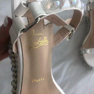 Christian Louboutin Wedge Style Heels